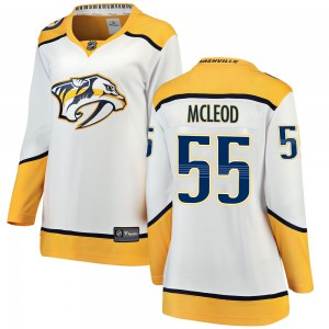 Women's Nashville Predators Cody Mcleod Fanatics Branded Cody McLeod Breakaway Away Jersey - White