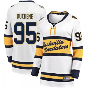Women's Nashville Predators Matt Duchene Fanatics Branded 2020 Winter Classic Breakaway Jersey - White