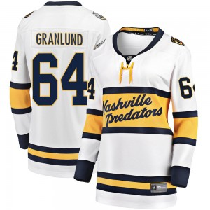Women's Nashville Predators Mikael Granlund Fanatics Branded 2020 Winter Classic Breakaway Jersey - White