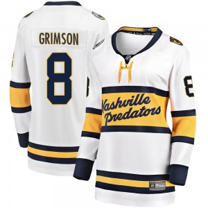Women's Nashville Predators Stu Grimson Fanatics Branded 2020 Winter Classic Breakaway Jersey - White