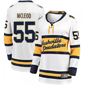 Women's Nashville Predators Cody Mcleod Fanatics Branded 2020 Winter Classic Breakaway Jersey - White