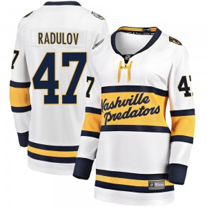 Women's Nashville Predators Alexander Radulov Fanatics Branded 2020 Winter Classic Breakaway Jersey - White
