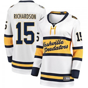 Women's Nashville Predators Brad Richardson Fanatics Branded 2020 Winter Classic Breakaway Player Jersey - White