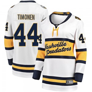 Women's Nashville Predators Kimmo Timonen Fanatics Branded 2020 Winter Classic Breakaway Jersey - White