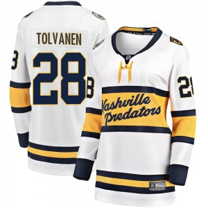 Women's Nashville Predators Eeli Tolvanen Fanatics Branded 2020 Winter Classic Breakaway Jersey - White