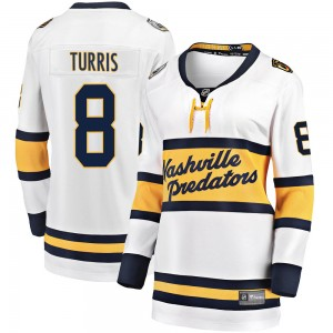 Women's Nashville Predators Kyle Turris Fanatics Branded 2020 Winter Classic Breakaway Jersey - White