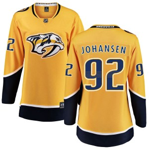 Women's Nashville Predators Ryan Johansen Fanatics Branded Home Breakaway Jersey - Yellow