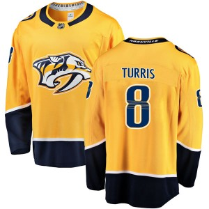 Men's Nashville Predators Kyle Turris Fanatics Branded Breakaway Home Jersey - Gold