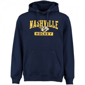 Men's Nashville Predators Rinkside City Pride Pullover Hoodie - - Navy